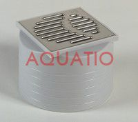 ACO Easyflow upper element with lattice 100x100 mm.