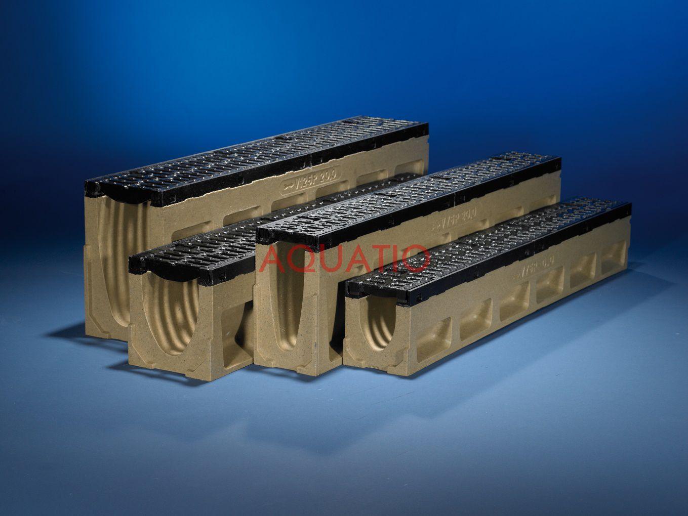 aco drain powerdrain v 75 275 p. Black Bedroom Furniture Sets. Home Design Ideas