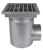 Professional stainless steel horizontal inlet W400/200H1
